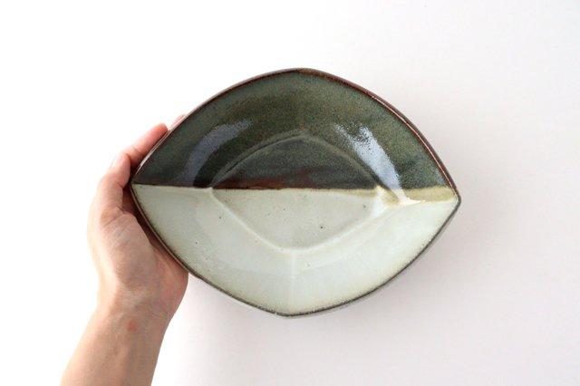 掛け分け ひし形 陶器 小代焼ちひろ窯 画像4
