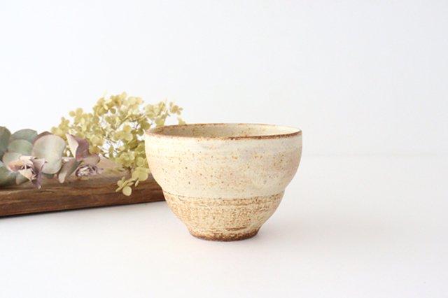 粉福 カフェオレボウル L 陶器 木のね
