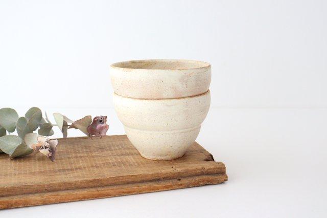 粉福 カフェオレボウル L 陶器 木のね 画像5