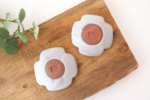 白マット豆皿 ROSETTE 陶器 葛西国太郎 画像2
