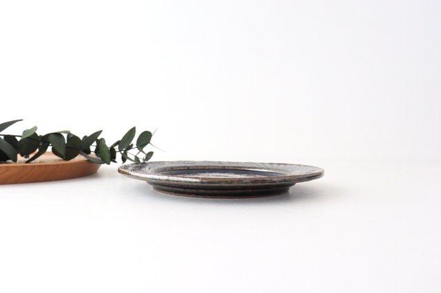 ナナメしのぎプレート 5.5寸 ルリ 陶器 伊藤豊 画像4