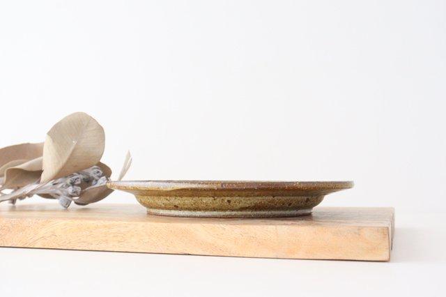 ナナメしのぎプレート 6.5寸 もえぎ 陶器 伊藤豊 画像6