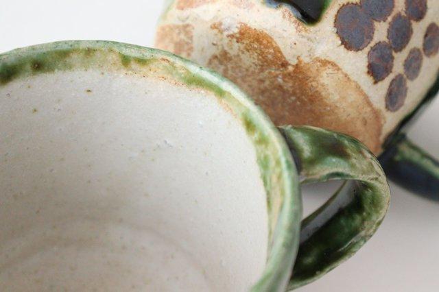 オリベ マグカップ てんてん 陶器 松波曜子 画像5