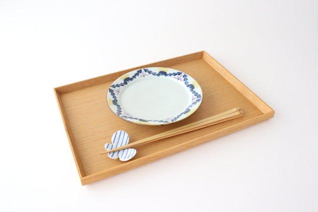 5寸リム皿 タンポポとれんげ 磁器 皐月窯 砥部焼 画像5