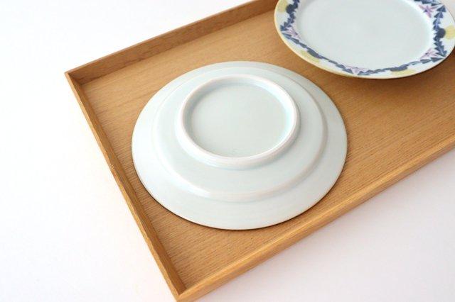 5寸リム皿 タンポポとれんげ 磁器 皐月窯 砥部焼 画像6