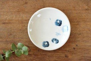 豆皿 アサガオ 陶器 村田亜希商品画像