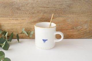 鳥のマグカップ 磁器 原村俊之商品画像