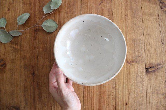 美濃焼 粉引削りどんぶり鉢 陶器  画像3