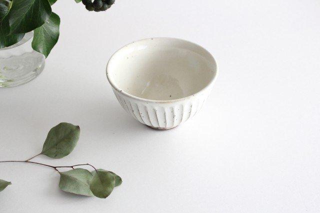 粉引削り飯碗 陶器 美濃焼 画像5