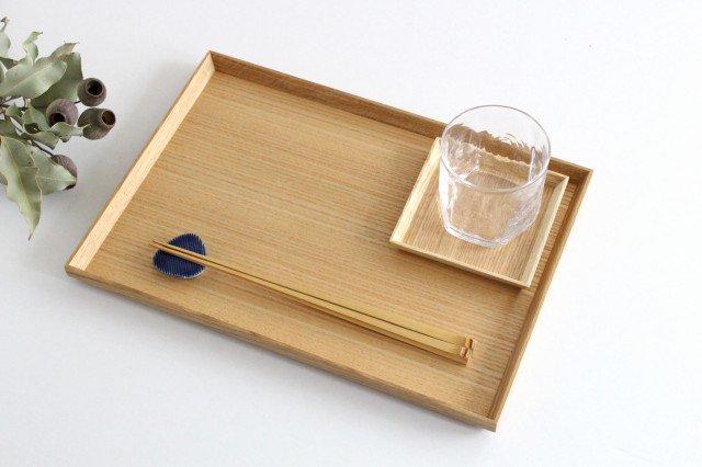 タモ白木塗 木製銘々皿コースター 松屋漆器店 画像6