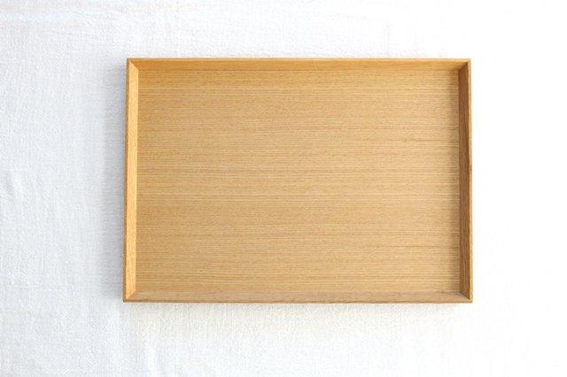 タモ白木塗 木製スープトレー 松屋漆器店 画像3