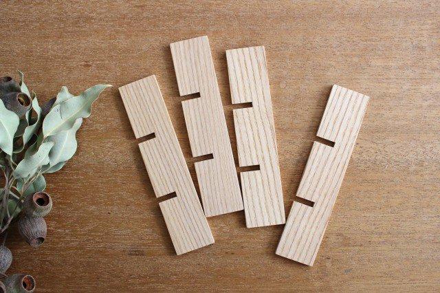 タモ白木塗 重箱用仕切り(九つ切) 松屋漆器店 画像2