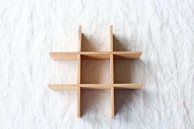 タモ白木塗 重箱用仕切り(九つ切) 松屋漆器店 画像4