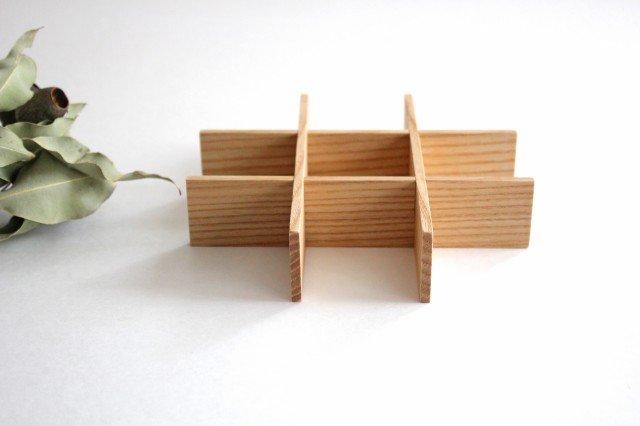 タモ白木塗 重箱用仕切り(九つ切) 松屋漆器店 画像6
