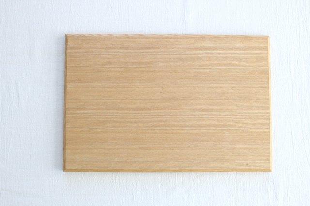 タモ白木塗 木製長角トレー 松屋漆器店 画像3