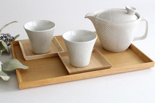 タモ白木塗 木製長角トレー 松屋漆器店 画像6