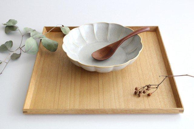 タモ白木塗 木製正角トレー 松屋漆器店 画像4