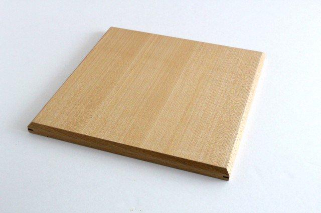 タモ白木塗 木製正角トレー 松屋漆器店 画像6