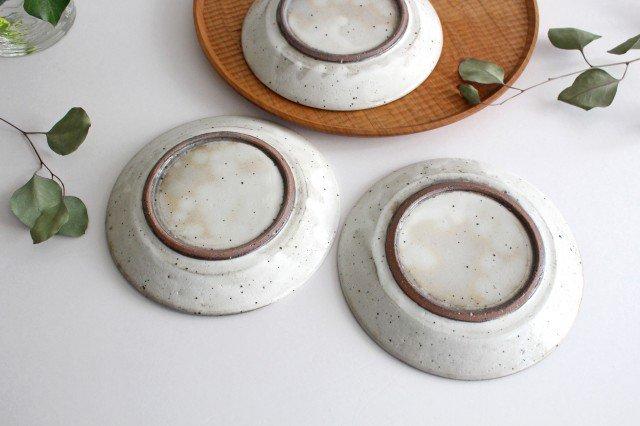 美濃焼 粉引削り取皿 陶器 画像5