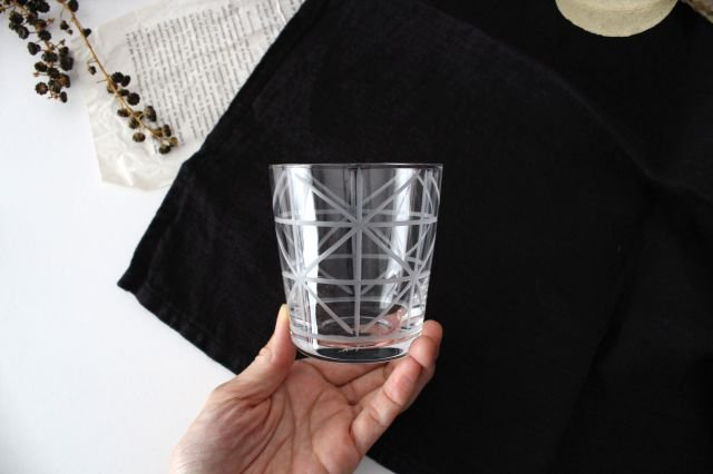 KIRIKO グラス 格子花 ガラス atelierALI-BAB 山口未来 画像4