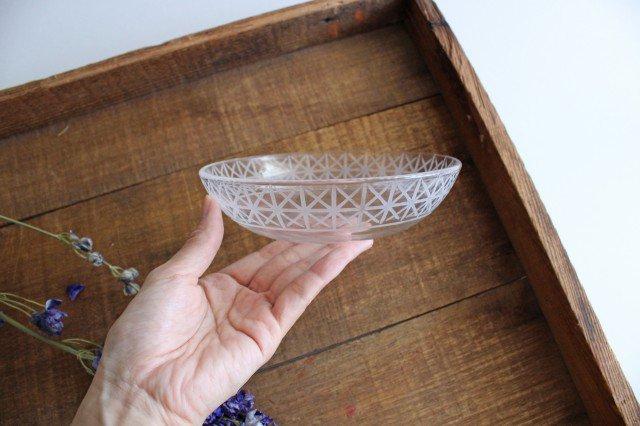 KIRIKO ボウル 小 麻の葉 ガラス atelierALI-BAB 山口未来 画像2