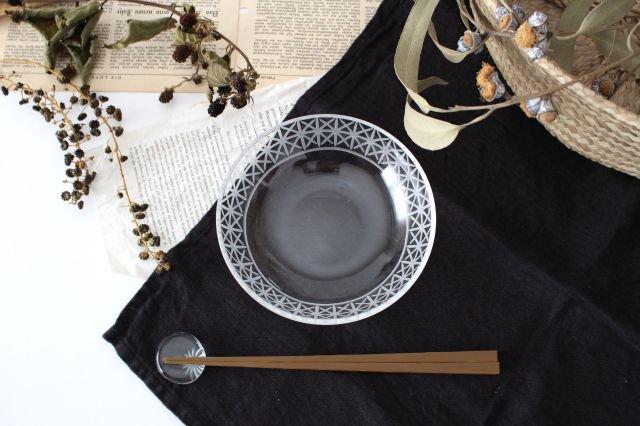 KIRIKO ボウル 小 麻の葉 ガラス atelierALI-BAB 山口未来 画像4