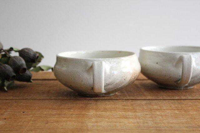 鉄散 持ち手つきスープカップ 外荒窯変 陶器 古谷製陶所 画像4