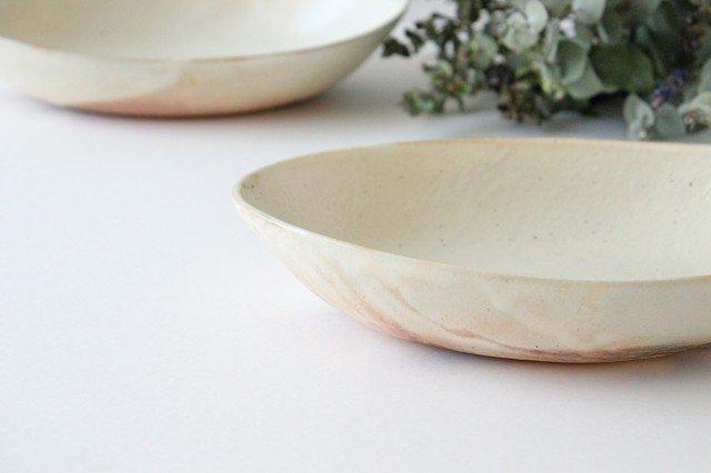 鉄散 楕円深鉢 陶器 古谷製陶所 画像3