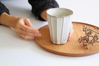 ビアタンブラー M 面取り 陶器 シモヤユミコ商品画像