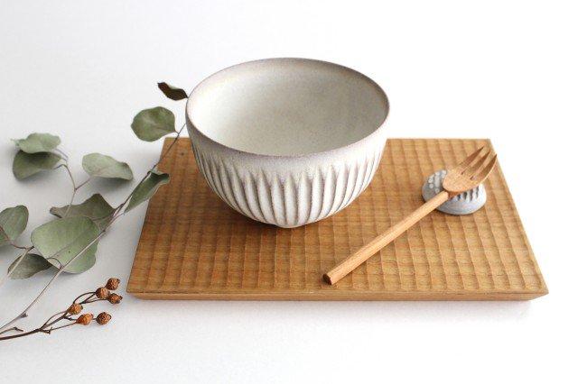 ボウル S しのぎ 陶器 シモヤユミコ 画像4