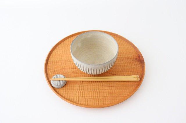 ボウル S しのぎ 陶器 シモヤユミコ 画像6