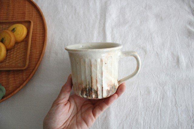 鉄散 マグカップ 陶器 古谷製陶所 画像5