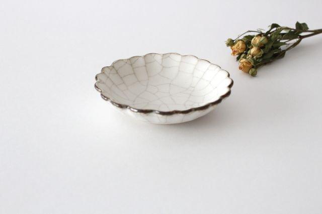 小皿 ハナ カンニュウ 陶器 たくまポタリー 画像2