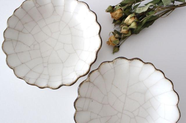 小皿 ハナ カンニュウ 陶器 たくまポタリー 画像4