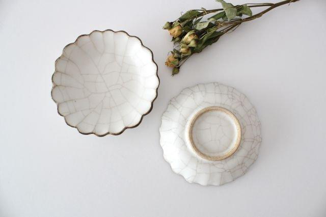 小皿 ハナ カンニュウ 陶器 たくまポタリー 画像5