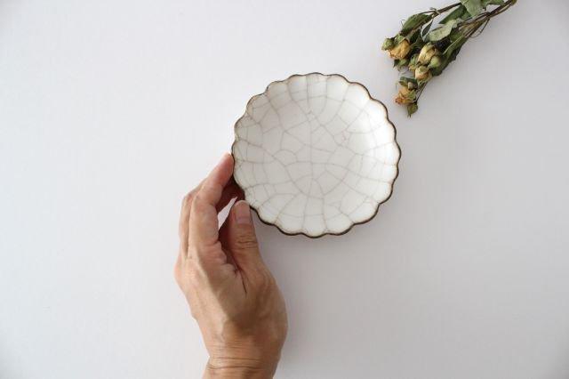 小皿 ハナ カンニュウ 陶器 たくまポタリー 画像6