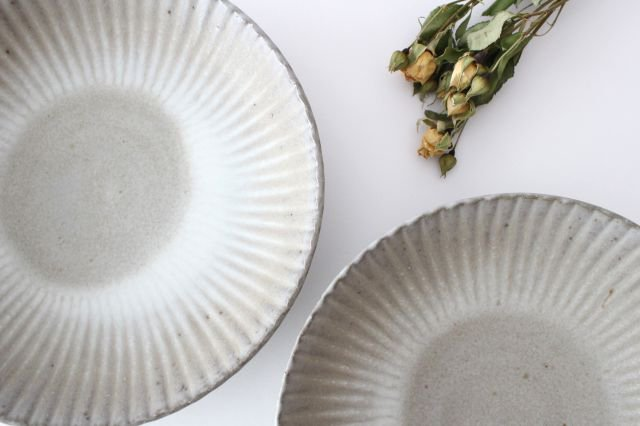 6寸皿 まる菊 グレーマット 陶器 たくまポタリー 画像3
