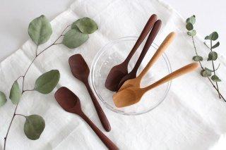 ナチュラルな木のアイスクリームスプーン商品画像