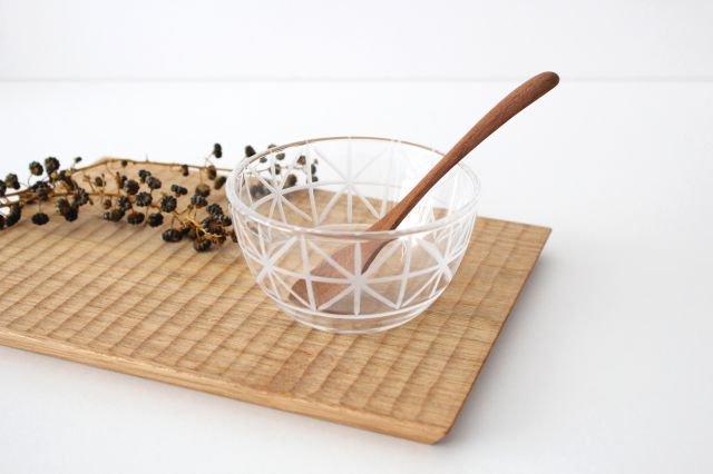 KIRIKOボウル ミニ 格子花 ガラス atelierALI-BAB山口未来 画像6