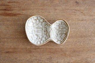 豆皿 蝶 陶器 キエリ舎商品画像
