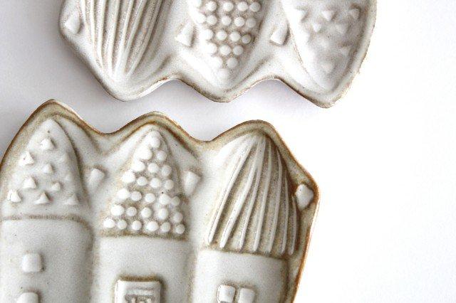 豆皿 三角家 白 陶器 キエリ舎 画像5