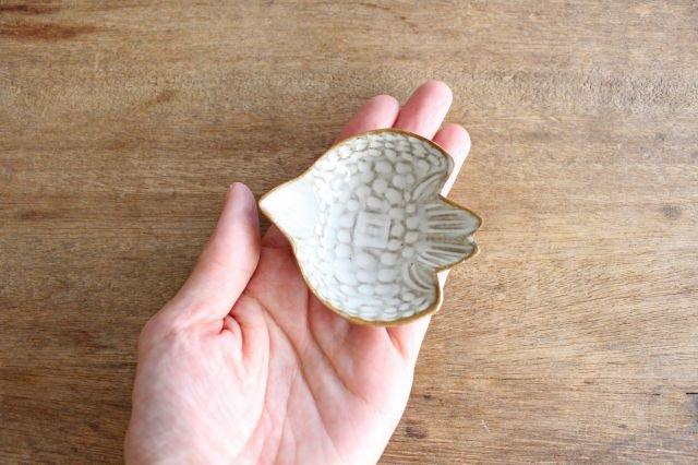 豆皿 鳥 陶器 キエリ舎 画像3