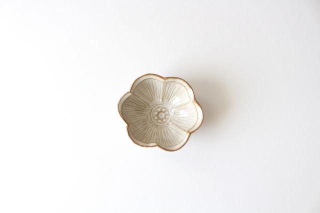 豆皿 アネモネ 陶器 キエリ舎