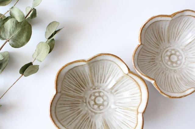 豆皿 アネモネ 陶器 キエリ舎 画像4