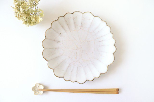 7寸皿 ハナ カンニュウ 陶器 たくまポタリー 画像3