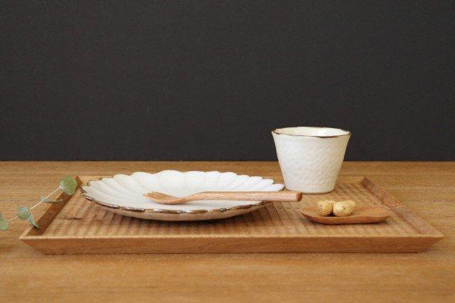 7寸皿 ハナ カンニュウ 陶器 たくまポタリー 画像6