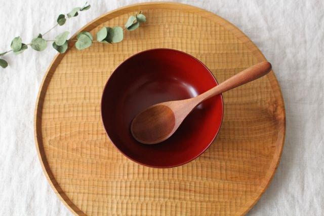 越前塗りの汁椀(食器洗浄機対応) 朱 松屋漆器店 画像5