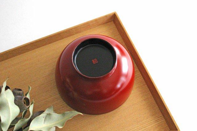 越前塗りの汁椀(食器洗浄機対応) 朱 松屋漆器店 画像6