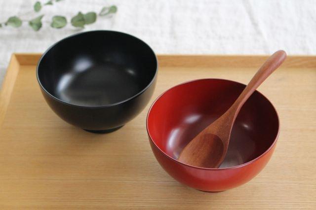越前塗りの汁椀(食器洗浄機対応)夫婦セット 松屋漆器店 画像6