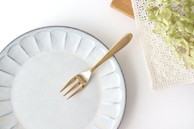 ブラス(真鍮)のデザートフォーク